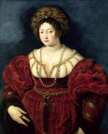 Posthumous portrait of Isabella d'Este, Marchioness of Mantua by Peter Paul Rubens