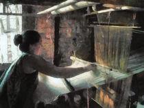 Die Weberin  - The weaver - by Wolfgang Pfensig