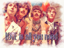 A Beatles Valentine by Stephen Lawrence Mitchell