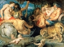 The Four Continents by Peter Paul Rubens