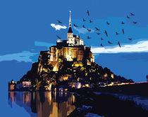 Mont Saint-Michel France by Cindy Shim