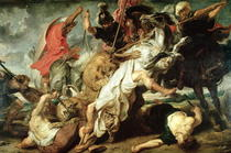 The Lion Hunt by Peter Paul Rubens