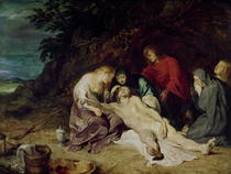 Lamentation over the Dead Christ with St. John and the Holy Wome by Peter Paul Rubens