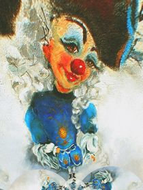 Clown Antoine 5 von Barbara Tolnay