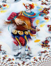Clown Ivan 4 von Barbara Tolnay