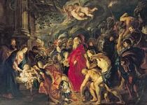 Die Anbetung der Heiligen Drei Könige von Peter Paul Rubens