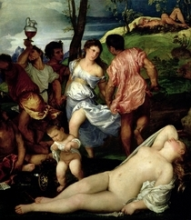 The Andrians by Tiziano Vecellio