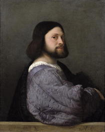 Portrait of a Man by Tiziano Vecellio
