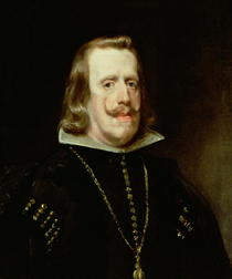 Philip IV of Spain by Diego Rodriguez de Silva y Velazquez