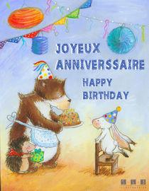 Joyeux anniversaire Lapin ! von sarah-emmanuelle-burg