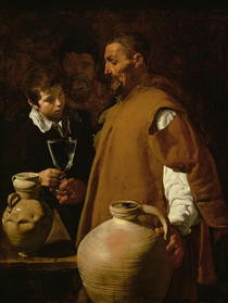 Waterseller of Seville by Diego Rodriguez de Silva y Velazquez