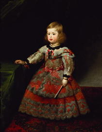 The Infanta Maria Margarita of Austria as a Child by Diego Rodriguez de Silva y Velazquez