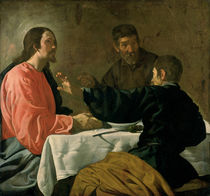 Supper at Emmaus by Diego Rodriguez de Silva y Velazquez