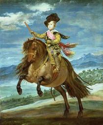 Prince Balthasar Carlos on horseback by Diego Rodriguez de Silva y Velazquez