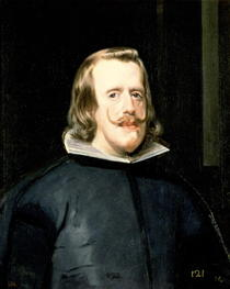 Portrait of Philip IV in Court Dress by Diego Rodriguez de Silva y Velazquez