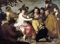 Triumph des Bacchus von Diego Rodriguez de Silva y Velazquez