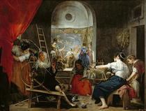 The Spinners, or The Fable of Arachne by Diego Rodriguez de Silva y Velazquez