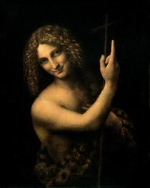 Johannes der Täufer von Leonardo Da Vinci