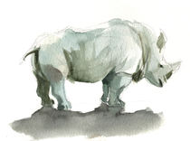 Rhinoceros by jaume