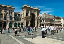 shopping mall in Milan, Italy by hansenn