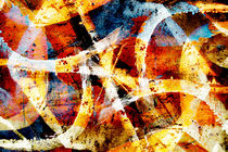 Abstract graffiti 2 by Steve Ball