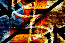 Abstract graffiti 7 by Steve Ball