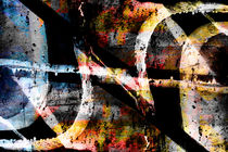 Abstract graffiti 8 von Steve Ball