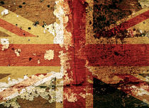 Weathered Union Flag by Steve Ball
