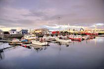 The harbour at Reykjavik von Rob Hawkins
