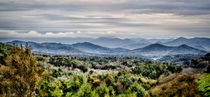 Smoky Mountains Panorama by Heather Applegate