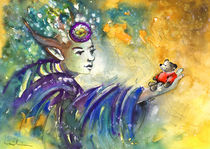 The Elf and The Little Bear by Miki de Goodaboom