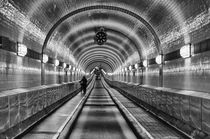 Old Elbe Tunnel Hamburg von Christian Schlamann