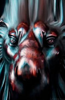 Lion King Digital Painting by Jim Plaxco