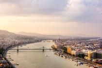 Danube Sunset by Patrycja Polechonska