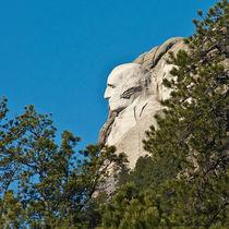 George Washington Sculpture, Mount Rushmore by Jim Plaxco