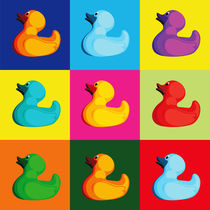 Pop Art Ducks von Gaby Jungkeit