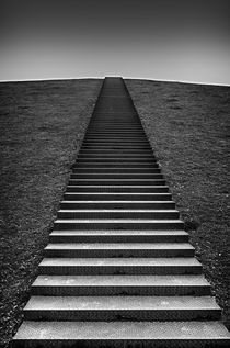 stairs on a hill by hansenn