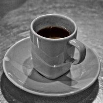 Arabic Coffee at Asha Black and White Photograph by Jim Plaxco