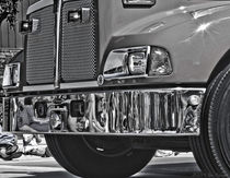 Classic Fire Truck Grill Photograph by Jim Plaxco