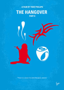 No145 My THE HANGOVER Part II minimal movie poster von chungkong