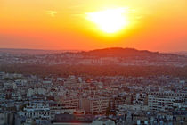Sonnenuntergang über Paris von Clara Bindhardt