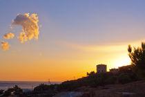 Cretan Sunset - Crete - Greece by Jörg Sobottka