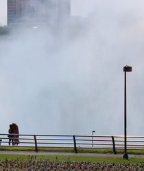 Viewers of the Niagara Falls by Kume Bryant