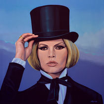 Brigitte Bardot painting by Paul Meijering
