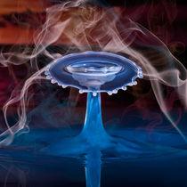 Blue Smoker by Ronny Tertnes
