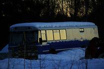 Blue Bus by Geir Ivar Ødegaard