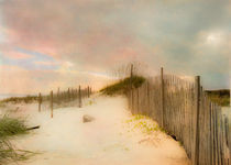 Sunrise on the Beach by Betty LaRue