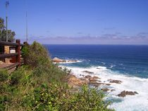 Seascape at Knysna Heads in South Africa by André  Pillay