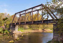 Retired Railroad Bridge von John Bailey
