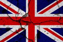 UK Flag 1 by Steve Ball